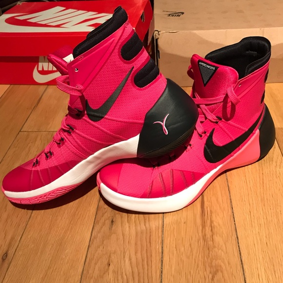 "detailed look bf9d6 0788c NIKE ""Think Pink"" HyperDunk 2015 Mens 7.5  W sz 9"
